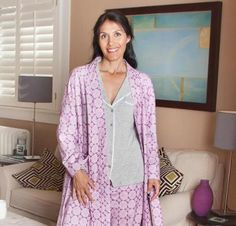 Dreaming in Color Flannel Robe Kit - Sewing Kit includes Fabric & Pattern!