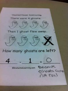 This kid, who's had enough with this paranormal crap. | 18 Kids Who Are Way Too Sassy For Their Own Good