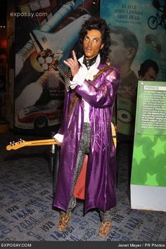 Prince - New Wax Figures Unveiled at Madame Tussaud's Wax Museum in New York