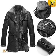 #DIY Designer Shearling Coats Men CW878578
