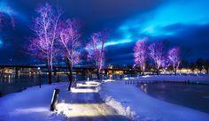 "53 tykkäystä, 2 kommenttia - Tehomet - A Valmont Company (@tehomet) Instagramissa: ""Winter wonderland in Ilosaari, Joensuu. . ""One of our most unique and customized project in 2017 is…"""