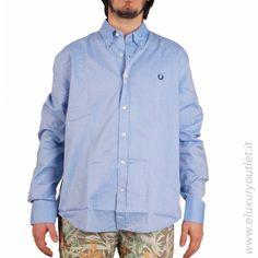 #Shirt #FredPerry -50% su #eluxuryoutlet!!! >> http://www.eluxuryoutlet.it/it/nuovi-arrivi/uomo/camicia-fred-perry-1.html