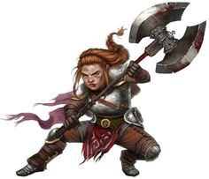 Dwarf female                                                                                                                                                                                 More