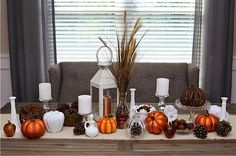 Buy your own custom curated fall tablescape all in one box. The perfect mix of vintage and new items all put together for you!  Modern whites, oranges, and earth tones mix perfectly with neutral decor. Halloween or Thanksgiving Holiday Tablescape by BurlapAndHoney, $200.00