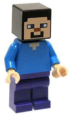 LEGO Minecraft Minifigure Steve...