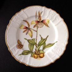Anna Weatherley Porcelain Orchids Dinner Plate 4