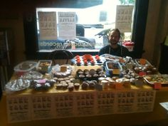 I did a bake sale thingy!
