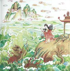 Chinese Children's Favorite Stories: Mingmei Yip: The Fish-Basket Goddess 9780804835893: Amazon.com: Books