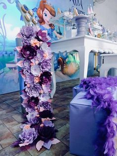 Paper Flower Install
