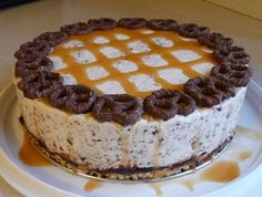 Ice Cream Pretzel Cake Recipe from Doreen
