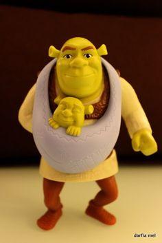 Shrek Babywearing!