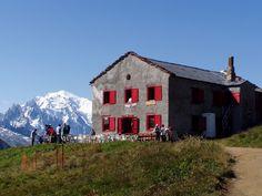 Lodging on the Swiss portion of Mont Blanc #jettsettercurator