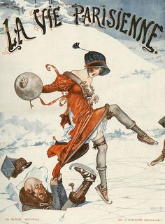 Illustration by Cheri Herouard For La Vie Parisienne 1920