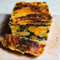 Nigel Slater's winter root veg recipes Swede and spinach loaf Swede Recipes, Vegetable Recipes, Vegetarian Recipes, Cooking Recipes, Healthy Recipes, Vegetable Loaf Recipe, Veggie Loaf, Vegetarian Christmas Recipes, Vegetarian Roast