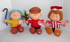 Hallmark Peanuts Gang Talking Christmas dolls #coolchristmas #CharlieBrownChristmas #Snoopy