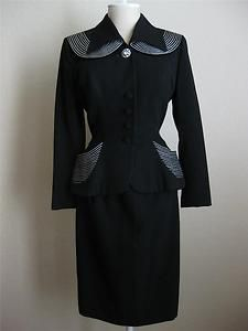 Fabulous 40s Lilli Ann suit sold ebay October 2012 $285
