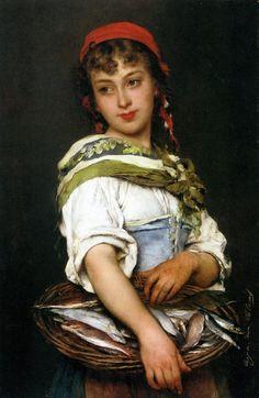 Eugene de Blaas 1843 -1931 | Austria