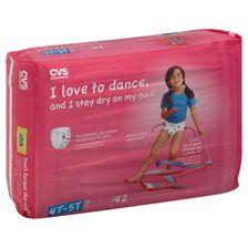 CVS Training Pants | CVS Training Pants for Girls Size 4T-5T (38-50 lb)
