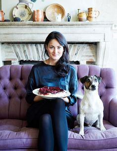 """Mimi Thorisson & her JRT Rover @mimithorisson.com. French Food and French Country Living blog """"Manger"""""""