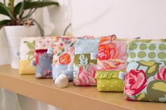 adorable zipper pouches