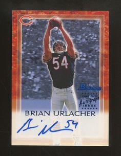 c260ffca0 2000 Bowman Brian Urlacher Chicago Bears RC Rookie HOF AUTO