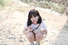 So cute my baby Kpop Girl Groups, Korean Girl Groups, Kpop Girls, Girls In Love, Cute Girls, Music 2015, Gfriend Album, Jung Eun Bi, Entertainment