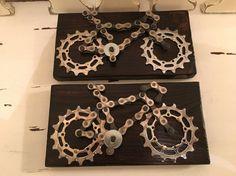 Regalo bicicleta ciclismo Arte PARED placa regalo para