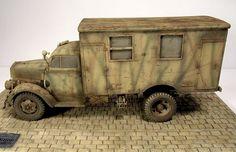 Opel Blitz mit Sonderaufbau - Ardennes 1944
