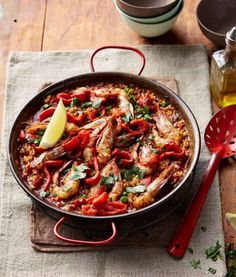 Chorizo and Prawn Paella - SunRice