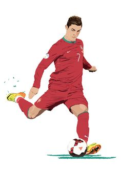 Cristiano Ronaldo on Behance. Cristiano Ronaldo Goals, Cristiano Ronaldo Manchester, Cristiano Ronaldo Portugal, Cristiano Ronaldo Wallpapers, Cristano Ronaldo, Ronaldo Football, Football Art, Football Player Drawing, Soccer Players