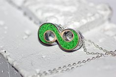 Infinity Symbol Necklace  Infinity Symbol by BootyHeartJewelry, $55.00
