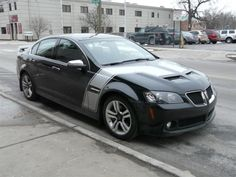 2008 Pontiac G8 Spotted, Decked Out In Racey Duds