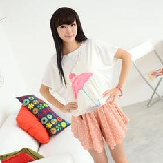 Umbrella Print T-Shirt from #YesStyle <3 59 Seconds YesStyle.com