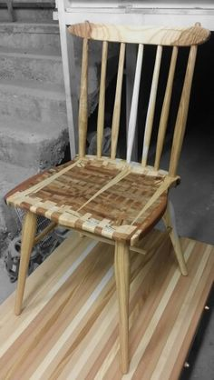 Wood chair segment