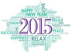 Happy 2015 from Sabine Pools, Spas & Furniture