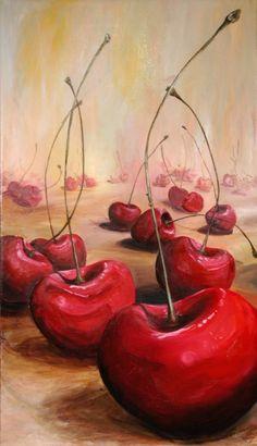 Cherries - Danielle Boudet #art $1,200★❤★