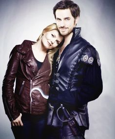 My favorite picture of Captain Swan.  Don't know if it's photoshopped or not, but it's gorgeous