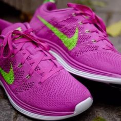 NIKE FLYKNIT LUNAR 1 PINK RUNNING SHOES Womens NIKE FLYKNIT LUNAR1   CLUB PINK ELECTRIC GREEN RUNNING SHOES   BRAND NEW IN BOX!! Nike Shoes Athletic Shoes