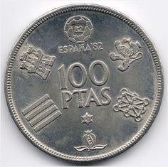 Spain 100 Pesetas 1980 (80) World Cup Soccer Veiling in de Spanje,Europa (niet of voor €),Munten,Munten & Banknota's Categorie op eBid België