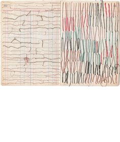 Sharon Etgar; Thread Drawings