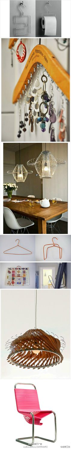 things made from clothes hangers