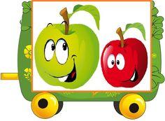 Happy Fruit, Malta, Yoshi, Tweety, Preschool, Kids, Pictures, Character, Colors
