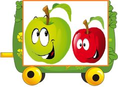 Happy Fruit, Malta, Yoshi, Tweety, Preschool, Kids, Pictures, Character, Activity Toys