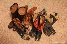 Crystal Cattle: My favorite boots and their stories.