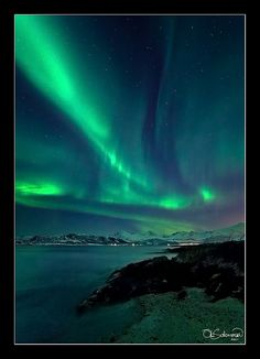 Sommarøy Aurora | Flickr - Ole Christian Salomo