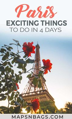 Don't miss these exciting things to do in Paris! Read this complete itinerary guide for the best places to visit and a bunch of travel tips for Paris. Including many tips about where to eat where to stay and more! Paris Travel Guide, Europe Travel Tips, Travel Guides, Travel Destinations, Travel Goals, Backpacking Europe, Travel Plan, Travel Hacks, European Destination