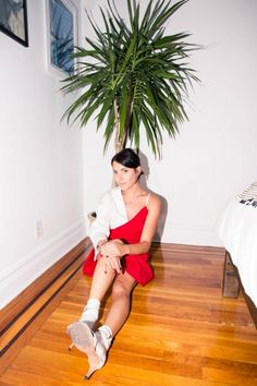 Inside Fashion Stylist's Kat Typaldos' Closet: Dress, Jacquemus | coveteur.com