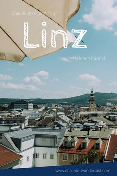 Was du an einem Tag in Linz alles erleben kannst, erfährst du in diesem Blogpost! #Linz #Österreich #Tagesausflug #Reisetipps Wanderlust, Heart Of Europe, Reisen In Europa, Airplane View, Holiday, Movie Posters, Suzy, Travelling, Bucket