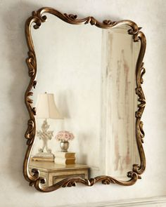 """Chippendale""+Mirror+by+Mirror+Image+at+Horchow. - check size/have something similar made"