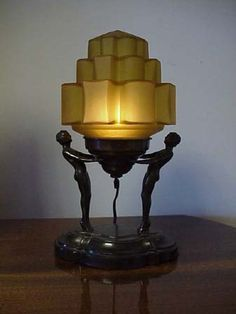 art deco lamp. Art Deco Lamp E